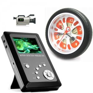 Hidden MP4 Player Receiver Wireless Spy Camera